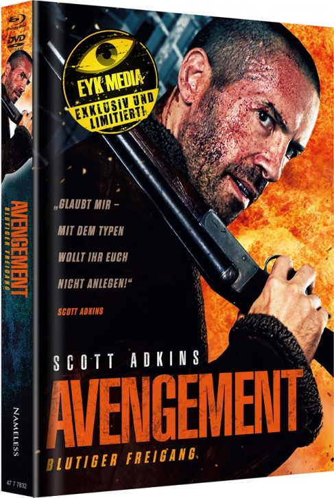 Avengement - Limited Mediabook Edition - Cover D [Blu-ray+DVD]