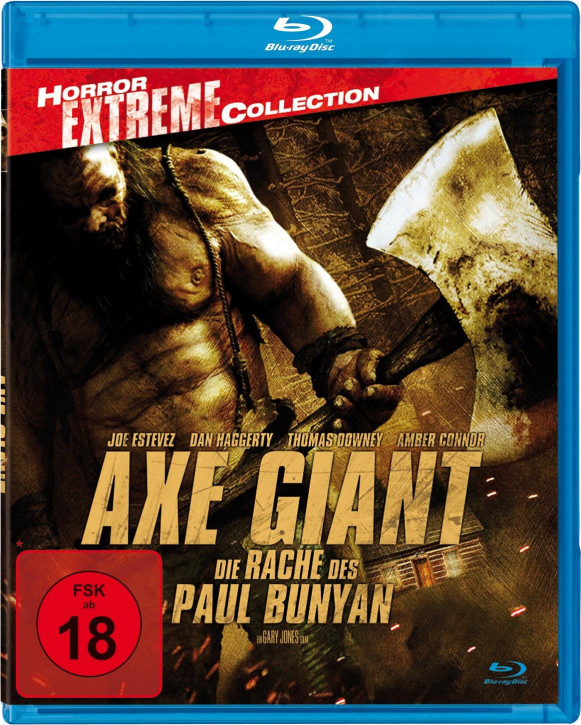 Axe Giant - Die Rache des Paul Bunyan - Horror Extreme Collection [Blu-ray]