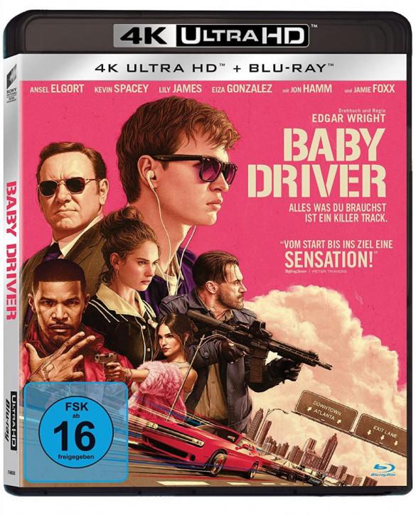 Baby Driver [4K UHD+Blu-ray]