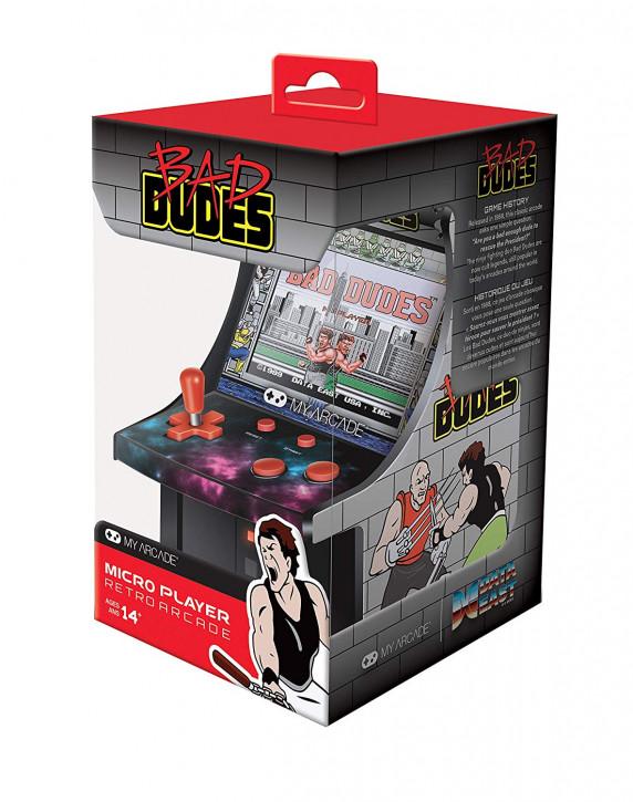 6 Zoll Collectible Retro Bad Dudes Micro Player