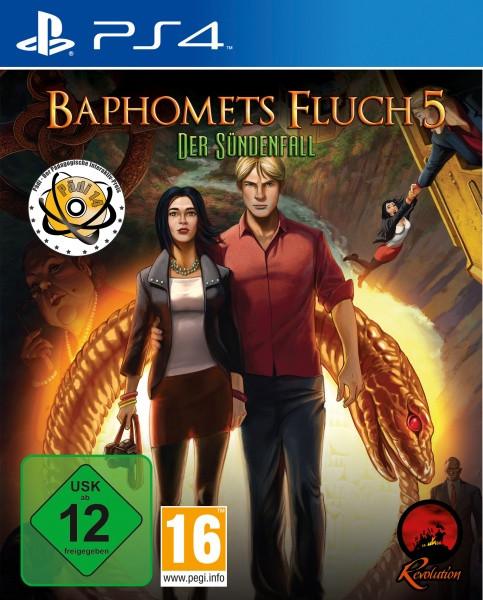 Baphomets Fluch 5 - Premium Edition [PS4]