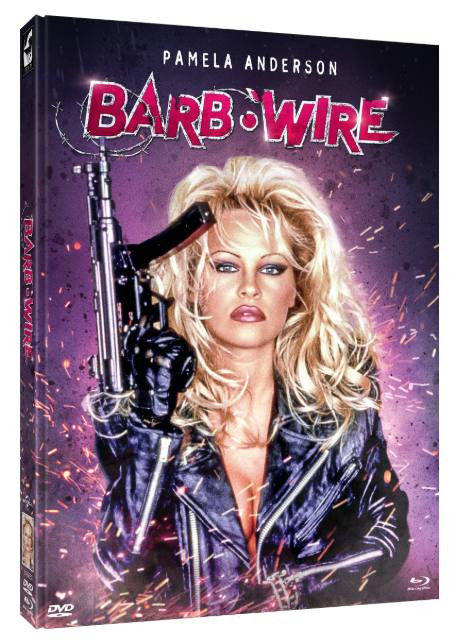 Barb Wire (Unrated) - Limited Mediabook Edition - Cover B [Blu-ray+DVD]
