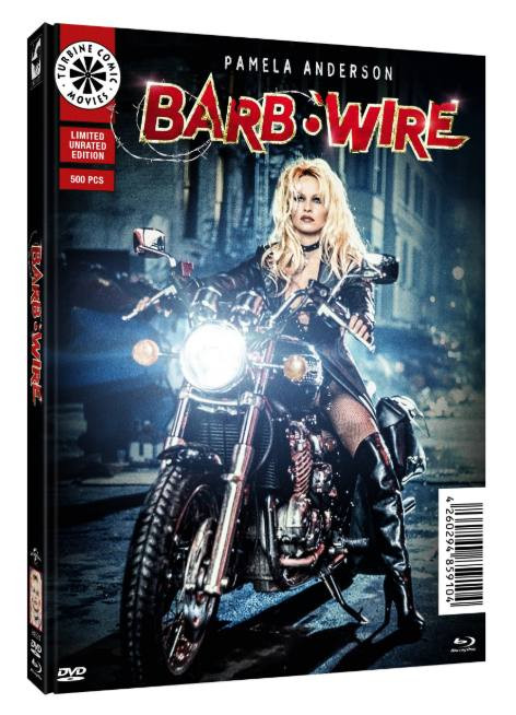 Barb Wire (Unrated) - Limited Mediabook Edition - Cover C [Blu-ray+DVD]