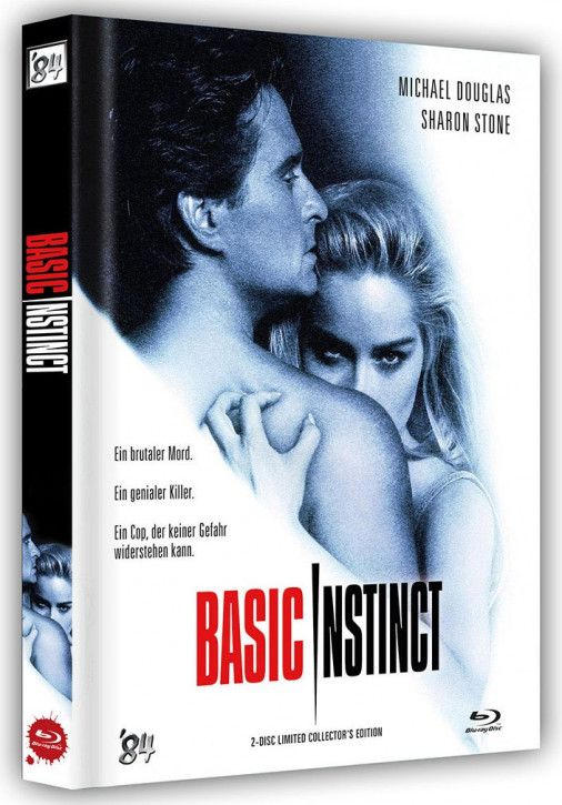 Basic Instinct - Limited Collector's Edition - Cover A [Blu-ray+DVD]