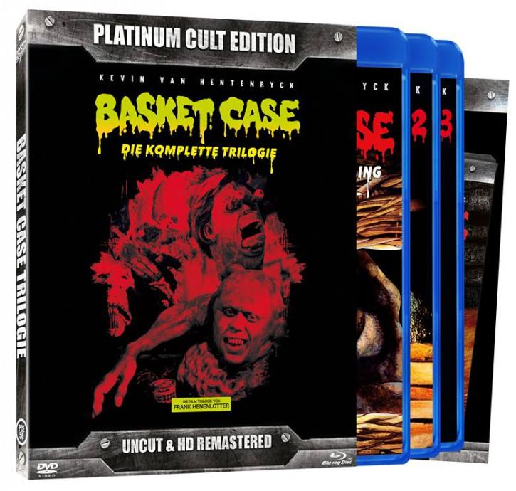 Basket Case - Die komplette Trilogie (Platinum-Cult-Edition) [Blu-ray+DVD]