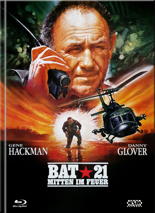 Bat 21 - Mitten im Feuer - Limited Mediabook Edition - Cover A [Blu-ray+DVD]