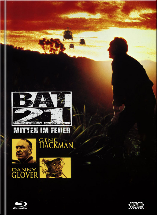 Bat 21 - Mitten im Feuer - Limited Mediabook Edition - Cover B [Blu-ray+DVD]