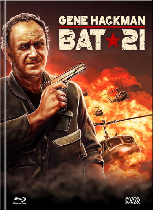 Bat 21 - Mitten im Feuer - Limited Mediabook Edition - Cover C [Blu-ray+DVD]
