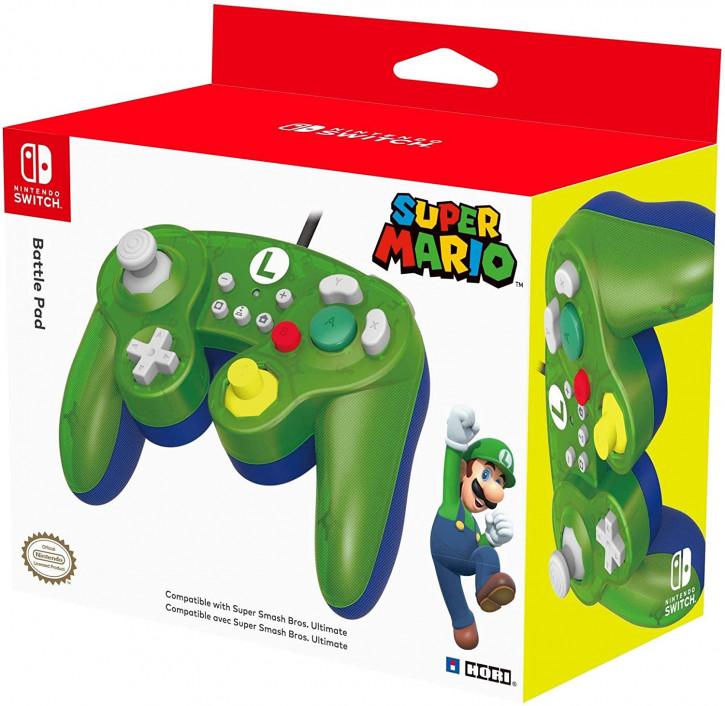 HORI Nintendo Switch Battle Pad (Luigi) Controller [Nintendo Switch]