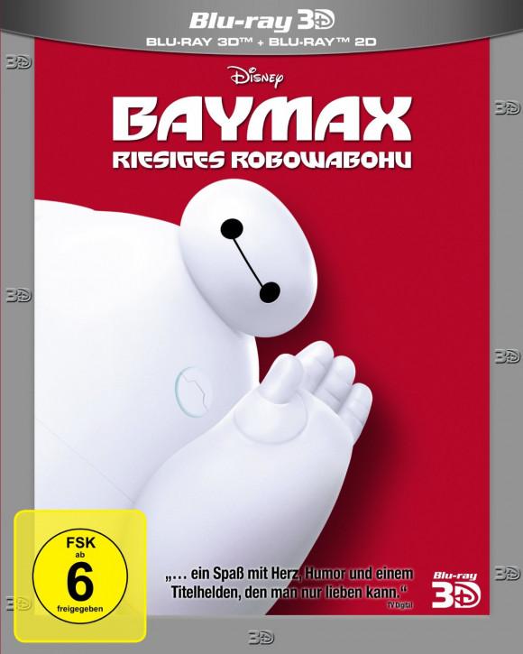 Baymax - Riesiges Robowabohu [3D Blu-ray]