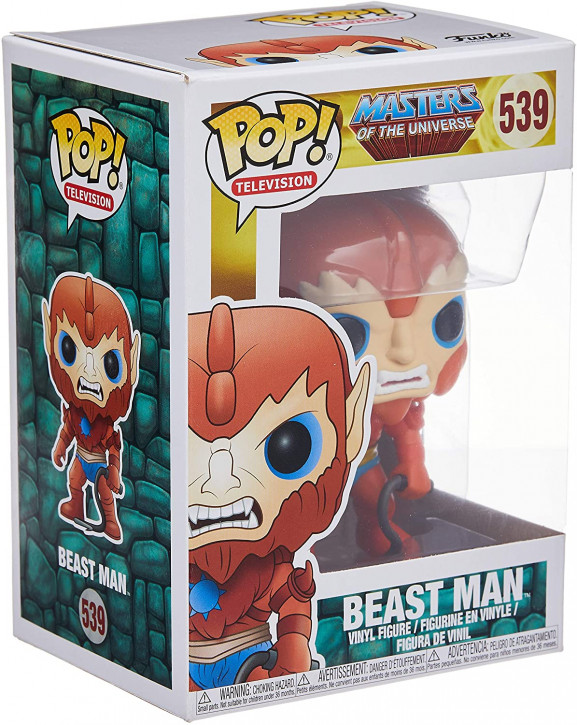 FunKo Movie: Masters Of The Universe - Beast Man - Pop Vinyl Figure 539