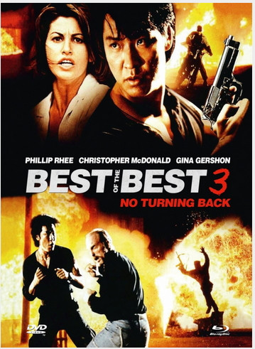 Best of the Best 3 - No Turning Back - Mediabook - Cover B [Blu-ray+DVD]