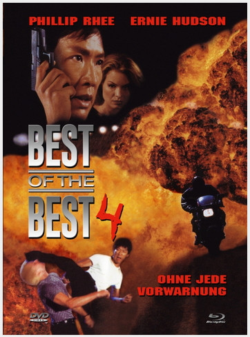 Best of the Best 4 - Ohne jede Vorwarnung - Mediabook - Cover A [Blu-ray+DVD]