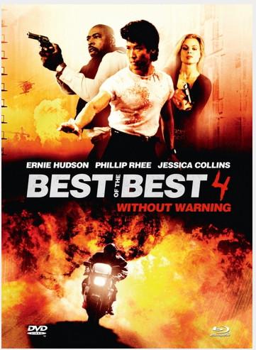 Best of the Best 4 - Ohne jede Vorwarnung - Mediabook - Cover B [Blu-ray+DVD]