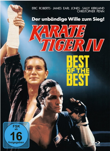 Best of the Best - Karate Tiger IV - Mediabook - Cover A [Blu-ray+DVD]