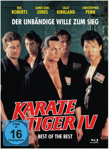 Best of the Best - Karate Tiger IV - Mediabook - Cover B [Blu-ray+DVD]
