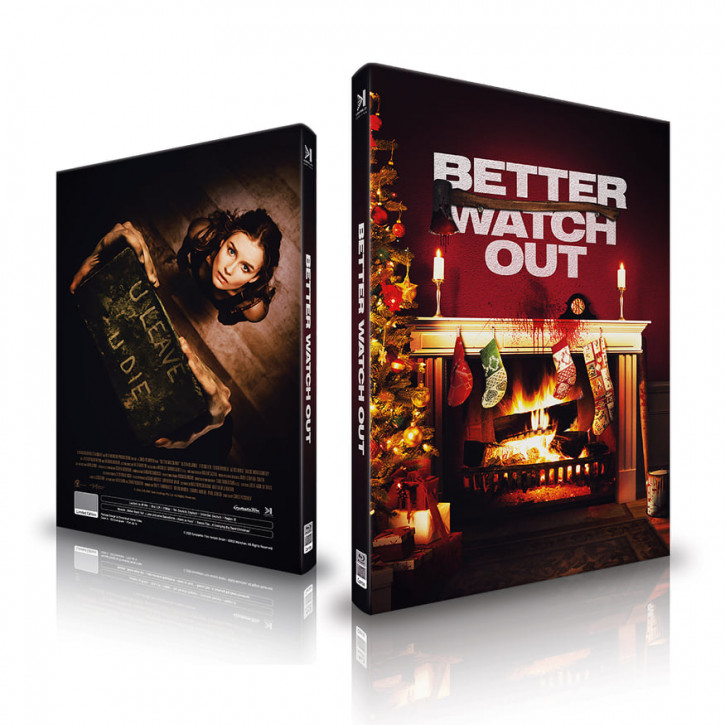 Better Watch Out - Mediabook - Cover A [Blu-ray+CD]
