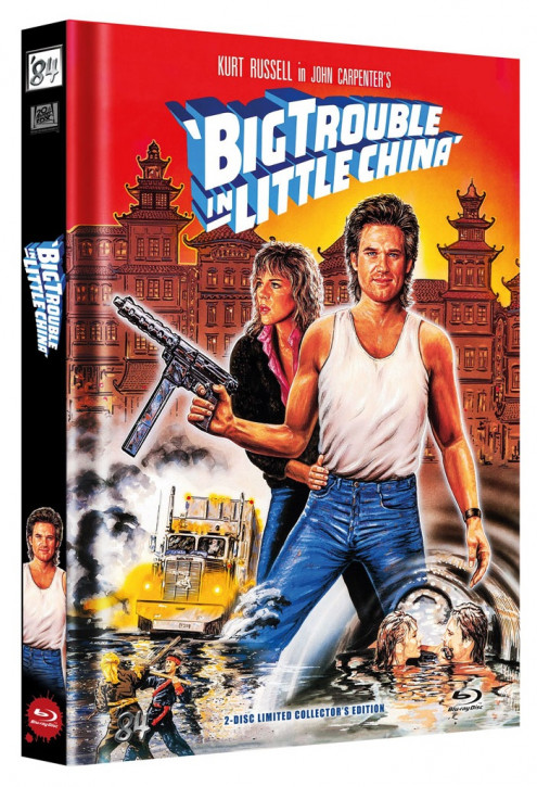 Big Trouble in Little China - Limited Collector's Edition - Cover C [Blu-ray+DVD]