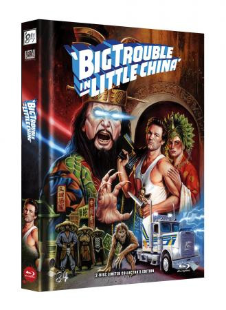 Big Trouble in Little China - Limited Collector's Edition - Cover E [Blu-ray+DVD]
