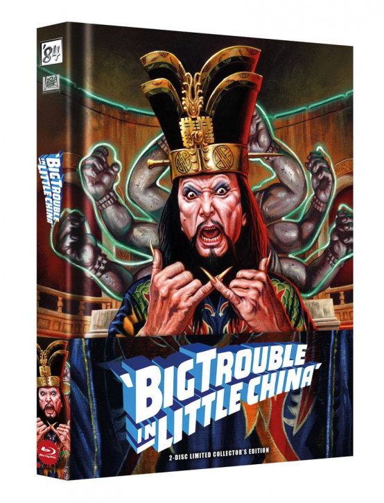 Big Trouble in Little China - Limited Collector's Edition [Blu-ray+DVD]