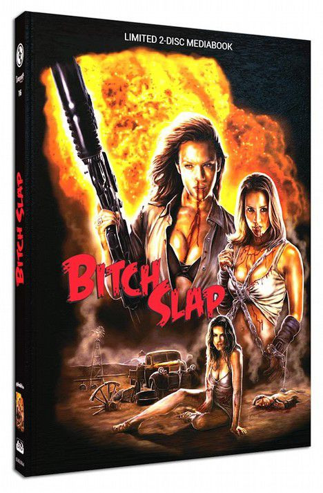 Bitch Slap - Limited Mediabook Edition - Cover A [Blu-ray+DVD]