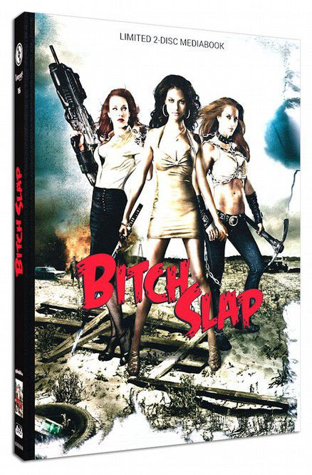 Bitch Slap - Limited Mediabook Edition - Cover B [Blu-ray+DVD]