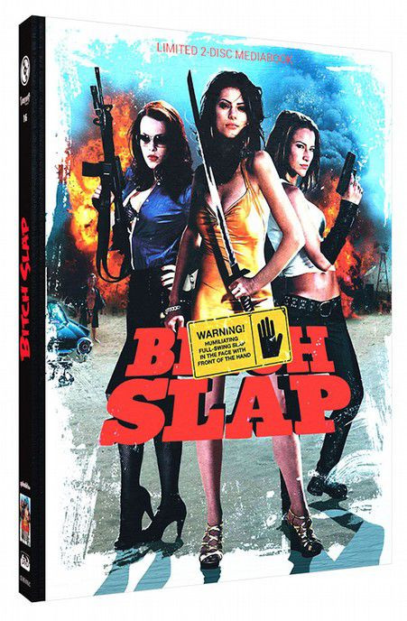 Bitch Slap - Limited Mediabook Edition - Cover C [Blu-ray+DVD]