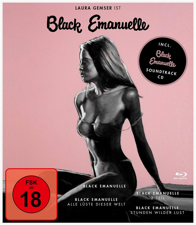 Black Emanuelle 1-4-Box [Blu-ray]