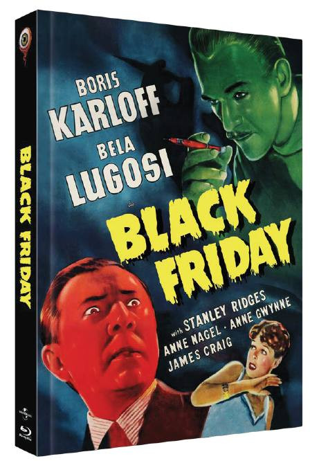 Black Friday - Limited Collectors Edition Cover A [Blu-ray+DVD]
