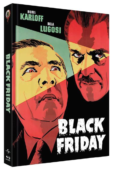 Black Friday - Limited Collectors Edition Cover B [Blu-ray+DVD]