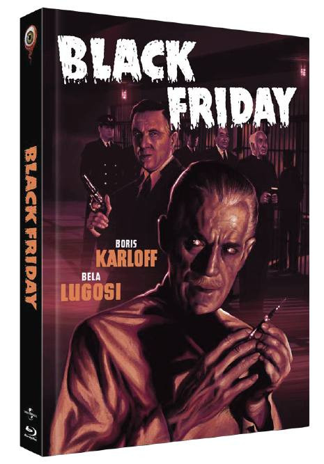 Black Friday - Limited Collectors Edition Cover C [Blu-ray+DVD]