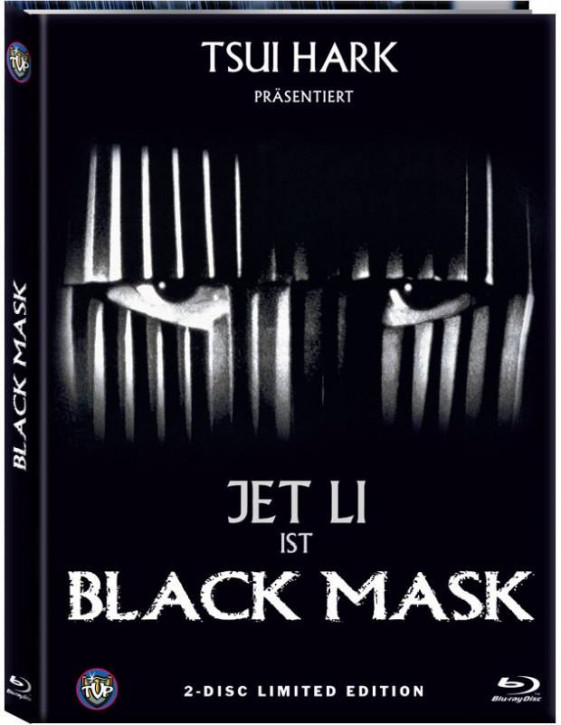 Black Mask (Internationale Fassung) - Limited Mediabook Edition - Cover B [Blu-ray+DVD]
