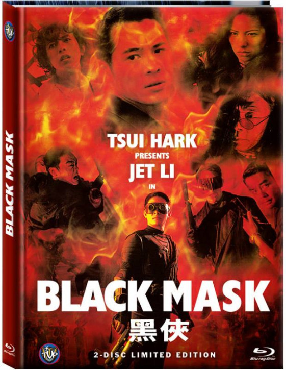 Black Mask (HongKong Fassung) - Limited Mediabook Edition - Cover C [Blu-ray+DVD]