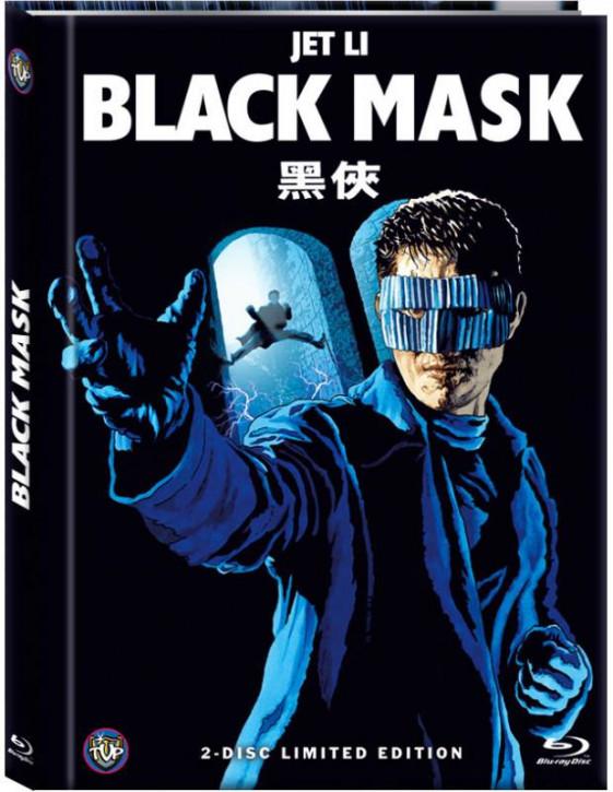 Black Mask (HongKong Fassung) - Limited Mediabook Edition - Cover D [Blu-ray+DVD]
