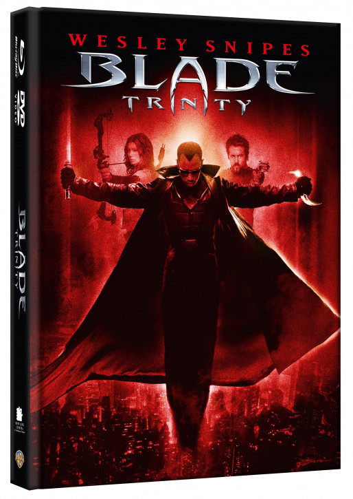Blade: Trinity - Limited Mediabook [Blu-ray+DVD]