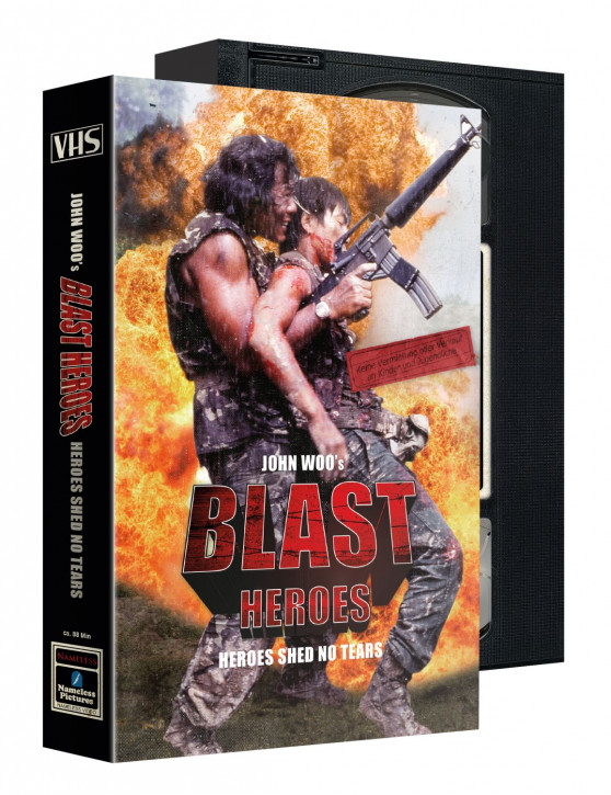 Blast Heroes - Limited VHS Edition [Blu-ray+DVD]