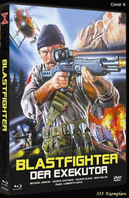 Blastfighter - Der Executor - Eurocult Collection #013 - Cover A [Blu-ray+DVD]
