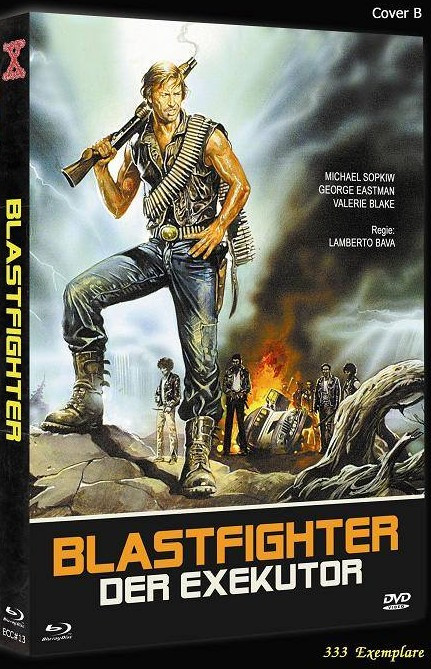 Blastfighter - Der Executor - Eurocult Collection #013 - Cover B [Blu-ray+DVD]