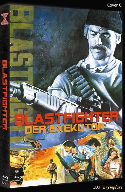 Blastfighter - Der Executor - Eurocult Collection #013 - Cover C [Blu-ray+DVD]