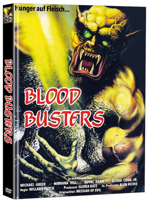 Blood Busters - Limited Mediabook Edition (Super Spooky Stories #17) [DVD]