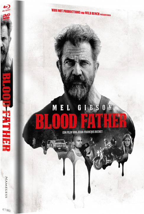 Blood Father - Limited Mediabook Edition - Cover A [Blu-ray+DVD]