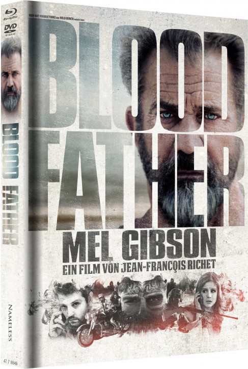 Blood Father - Limited Mediabook Edition - Cover B [Blu-ray+DVD]