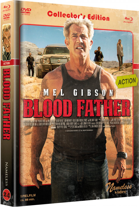 Blood Father - Limited Mediabook Edition - Cover C [Blu-ray+DVD]