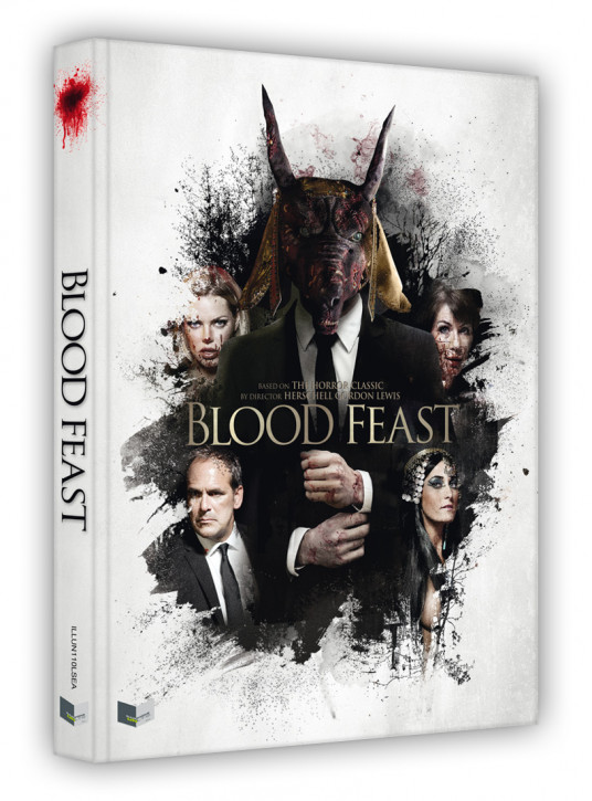 Blood Feast - Limited Collectors Edition - Cover A [Blu-ray+DVD]