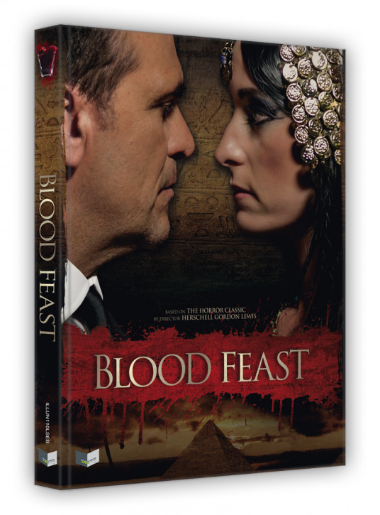 Blood Feast - Limited Collectors Edition - Cover B [Blu-ray+DVD]