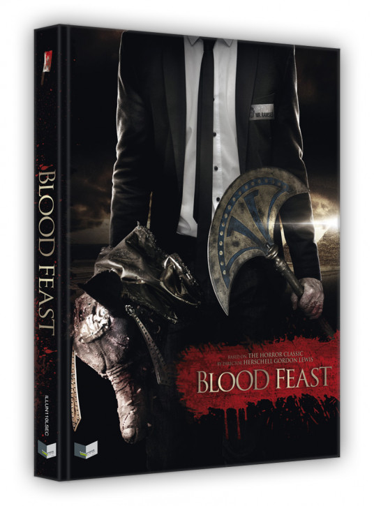 Blood Feast - Limited Collectors Edition - Cover C [Blu-ray+DVD]