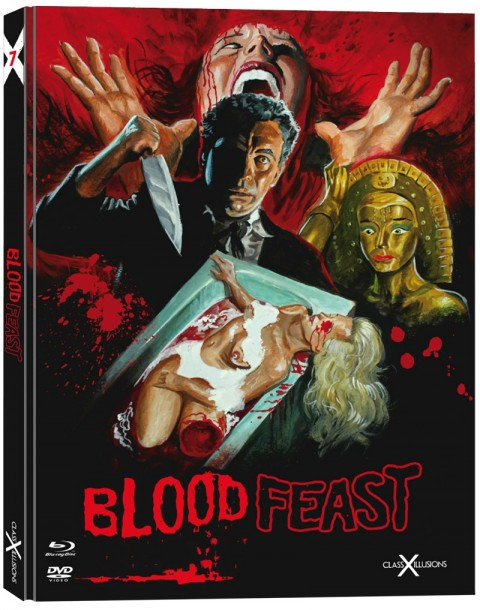 Blood Feast - Limited Collectors Edition - Class-X-Illusions #9 [Blu-ray+DVD]