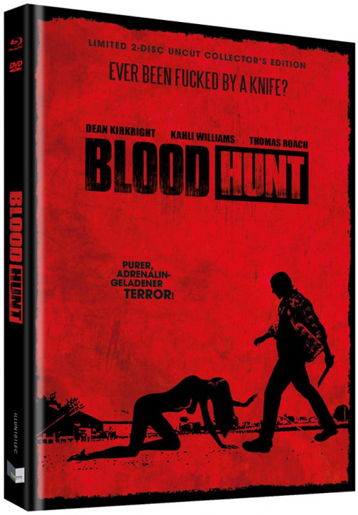 Blood Hunt - Blutrache - Limited Collectors Edition - Cover C [Blu-ray+DVD]