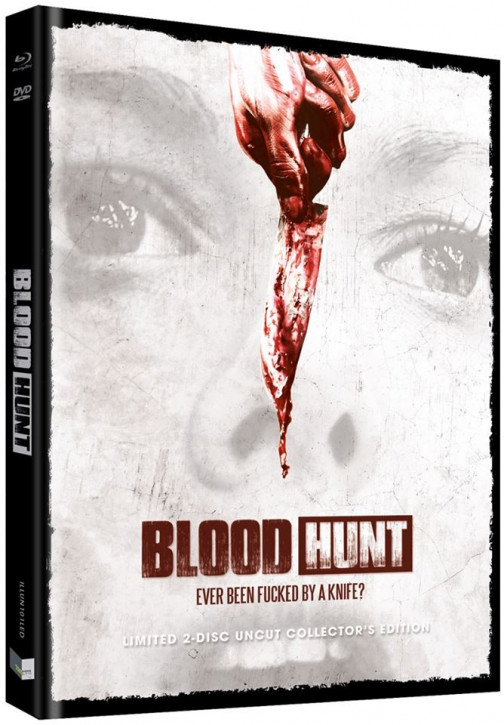 Blood Hunt - Blutrache - Limited Collectors Edition - Cover D [Blu-ray+DVD]