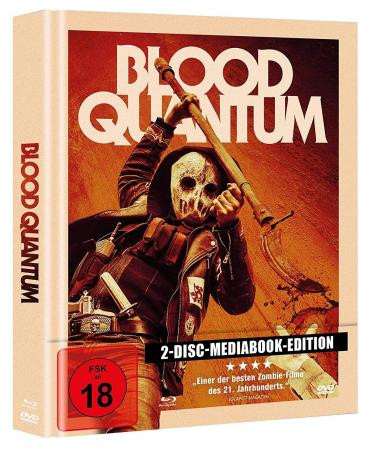 Blood Quantum - Mediabook [Blu-ray+DVD]